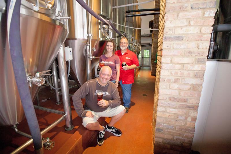 Lemont, Illinois Pollyannas brewery
