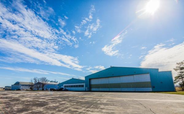 Northeast Philadelphia Airport back hangars
