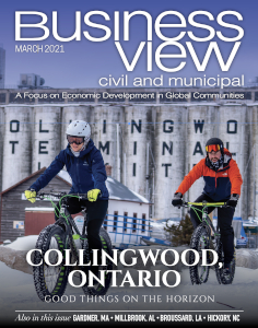 March 2021 issue cover for Business View Civil and Municipal