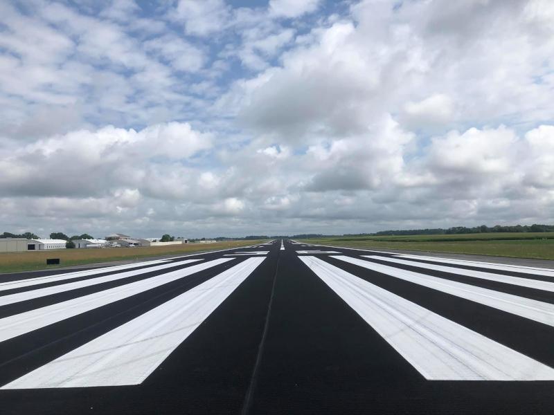Pryor Field Regional Airport runway