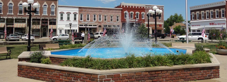 Washington Illinois Square Fountain