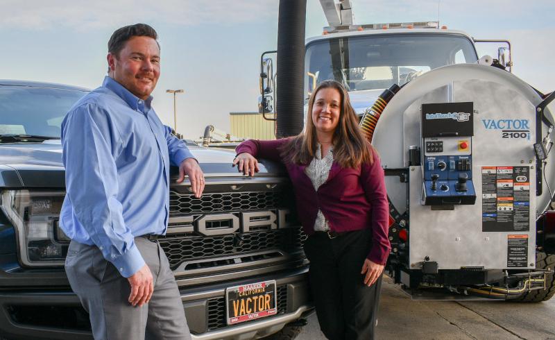 Haaker Equipment Company, Jake and Robin Haaker
