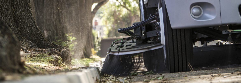 Haaker Equipment Company street sweeper