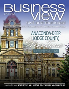 April 2021 issue cover for Business View Civil and Municipal Magazine