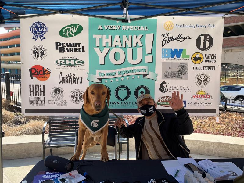 East Lansing, Michigan Weekend Warrior with Zeke the Wonderdog
