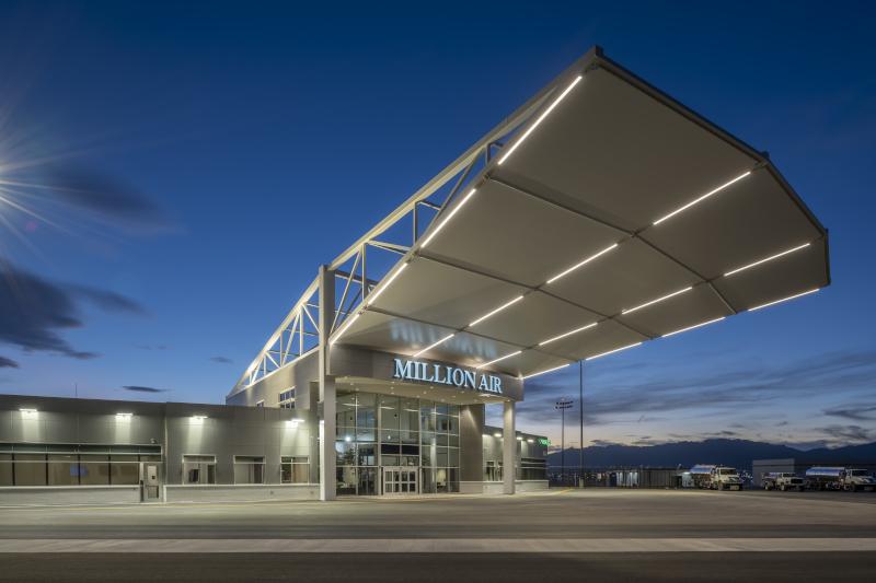 El Paso International Airport, Million Air EP building