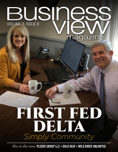 Issue cover for Business View Magazine