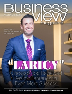 The latest issue cover for Business View Magazine