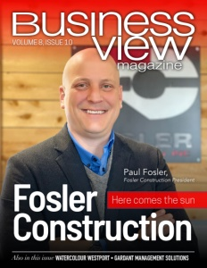 Volume 8 Issue 10 cover of Business View Magazine
